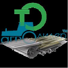 Ремонт удлинителя решета Таганрогский комбайновый завод СК-6-2 Колос (TKZ SK-6-II Kolos) 1420*390, н
