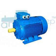 Электродвигатель трёхфазный 7,5 кВт 3000 об/мин (рем)