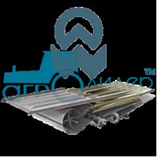 Ремонт верхнего решета Красноярский завод комбайнов Енисей 950 Руслан (KZK Yenisei 950 Ruslan) Р2-12