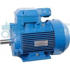 Электродвигатель трёхфазный 1,1 кВт 1000 об/мин (рем)