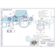 Гидроцилиндр ГЦ 63.32.1000.030.00