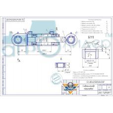 Гидроцилиндр ГЦ 80.40.500.040.00