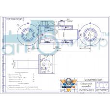 Гидроцилиндр ГЦ 125.80.1100.670.00