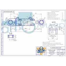 Гидроцилиндр ГЦ 100.50.200.040.00