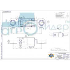 Гидроцилиндр ГЦ 160.80.560.680.00