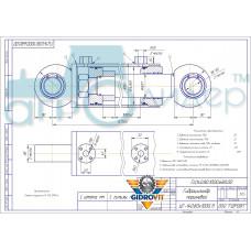 Гидроцилиндр ГЦ140.80.1000.680.00