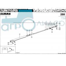 Гидроцилиндр выгрузного шнека - CLAAS MEGA 202 (рем)