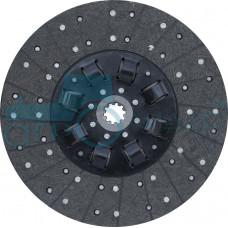 Диск ведомый муфты сцепления на а/м МАЗ для двигателя ЯМЗ-238 с безасбестовой накладкой