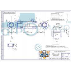 Гидроцилиндр ГЦ 100.55.500.040.00