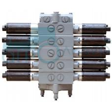 Гидрораспределитель 5РЭ50-44Б 5 секций (рем)